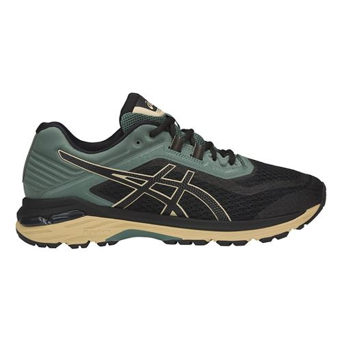 Mens ASICS GT-2000 6 Trail Running Shoe - Black/Forest 9