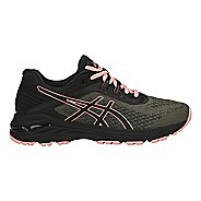 Womens ASICS GT-2000 6 Trail Running Shoe - Green/Black 11