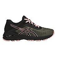 Womens ASICS GT-2000 6 Trail Running Shoe - Green/Black 9