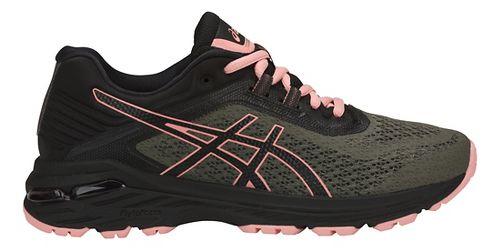 Womens ASICS GT-2000 6 Trail Running Shoe - Green/Black 10