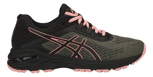 Womens ASICS GT-2000 6 Trail Running Shoe - Green/Black 7.5