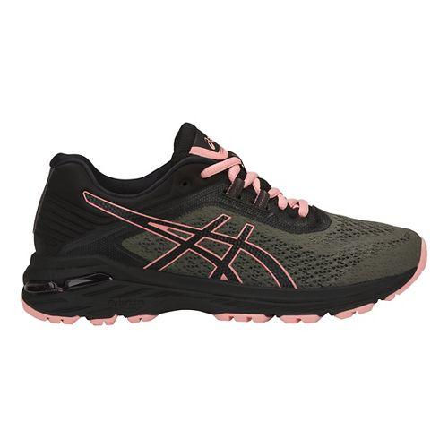 Womens ASICS GT-2000 6 Trail Running Shoe - Green/Black 9.5