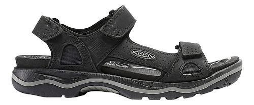 Mens Keen Rialto 3 Point Sandals Shoe - Black/Grey 13