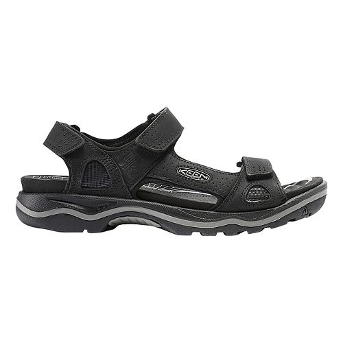 Mens Keen Rialto 3 Point Sandals Shoe - Black/Grey 7