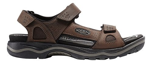 Mens Keen Rialto 3 Point Sandals Shoe - Earth/Black 10.5