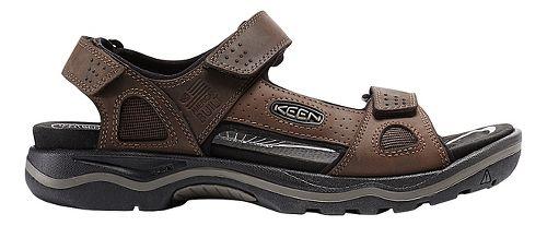 Mens Keen Rialto 3 Point Sandals Shoe - Earth/Black 9.5