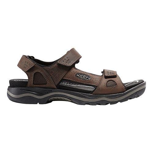 Mens Keen Rialto 3 Point Sandals Shoe - Earth/Black 15