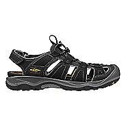 Mens Keen Rialto H2 Sandals Shoe - Black/Gargoyle 11.5