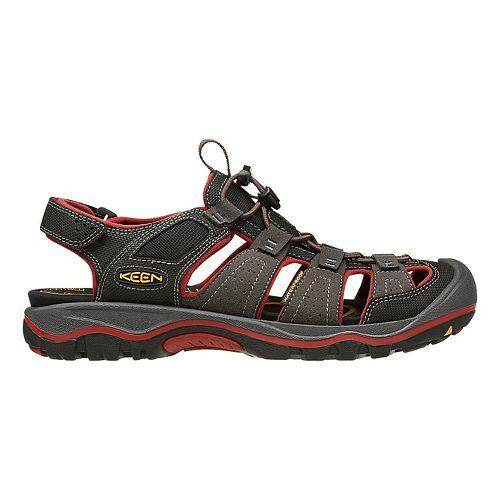 Mens Keen Rialto H2 Sandals Shoe - Raven/Bossa Nova 7.5
