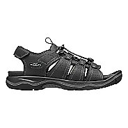 Mens Keen Rialto Open Toe Sandals Shoe - Black/Grey 11.5