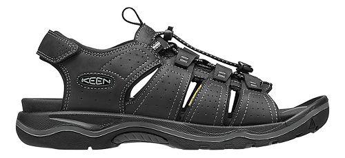 Mens Keen Rialto Open Toe Sandals Shoe - Black/Grey 9