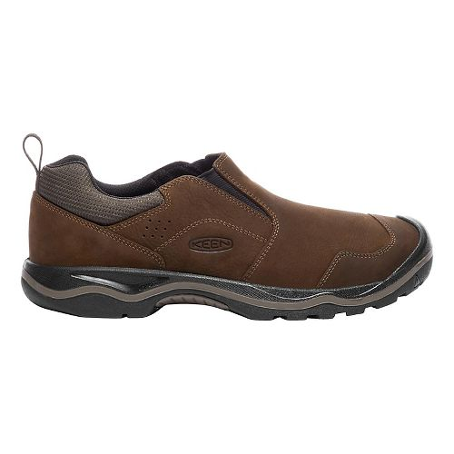 Mens Keen Rialto Slip On Casual Shoe - Dark Earth 10
