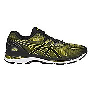 Mens ASICS GEL-Nimbus 20 Running Shoe - Yellow/Black 7
