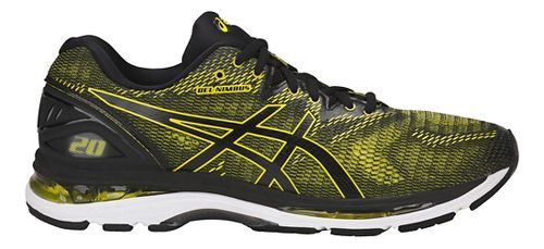 Mens ASICS GEL-Nimbus 20 Running Shoe - Yellow/Black 8