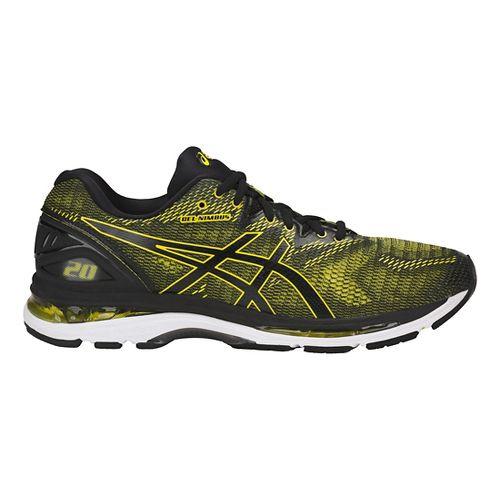 Mens ASICS GEL-Nimbus 20 Running Shoe - Yellow/Black 9.5