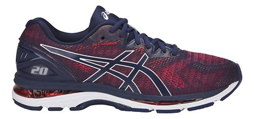 Mens ASICS GEL-Nimbus 20 Running Shoe - Indigo Blue 6.5