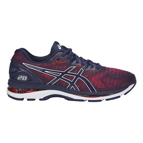 Mens ASICS GEL-Nimbus 20 Running Shoe - Indigo Blue 10.5