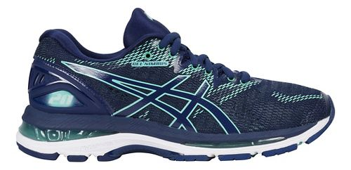 Womens ASICS GEL-Nimbus 20 Running Shoe - Indigo Blue 11.5