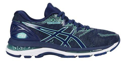 Womens ASICS GEL-Nimbus 20 Running Shoe - Indigo Blue 7.5