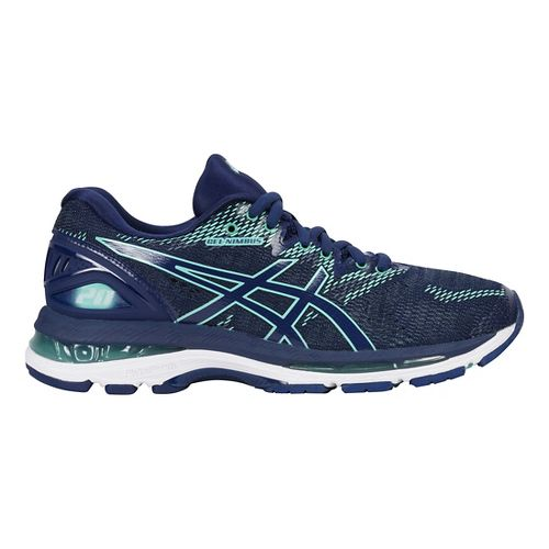 Womens ASICS GEL-Nimbus 20 Running Shoe - Indigo Blue 7.5