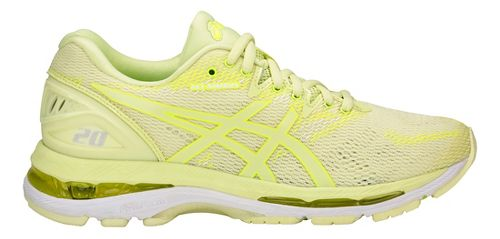 Womens ASICS GEL-Nimbus 20 Running Shoe - Yellow/Yellow 10.5