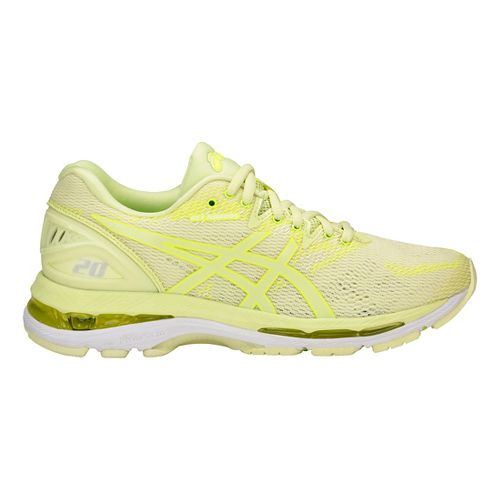 Womens ASICS GEL-Nimbus 20 Running Shoe - Yellow/Yellow 9