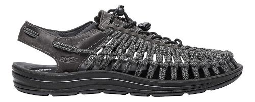 Mens Keen Uneek Leather Casual Shoe - Magnet/Black 11