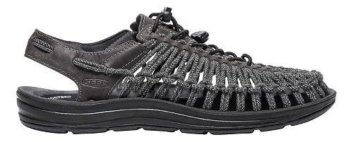 Mens Keen Uneek Leather Casual Shoe - Magnet/Black 8