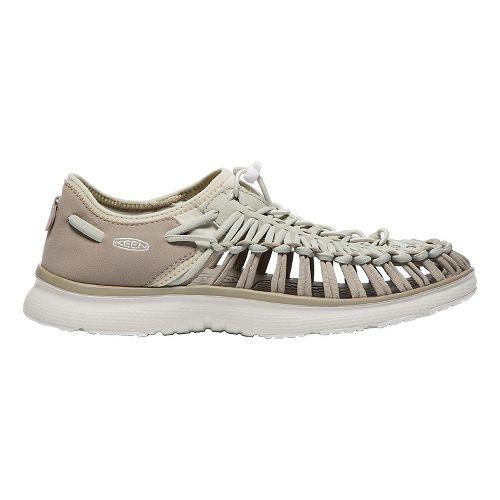 Mens Keen Uneek O2 Casual Shoe - Khaki/White 7