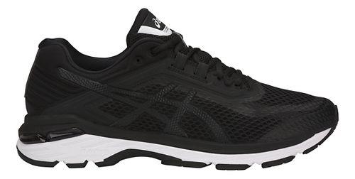 Mens ASICS GT-2000 6 Running Shoe - Black/White 12