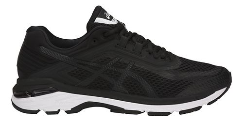 Mens ASICS GT-2000 6 Running Shoe - Black/White 12.5