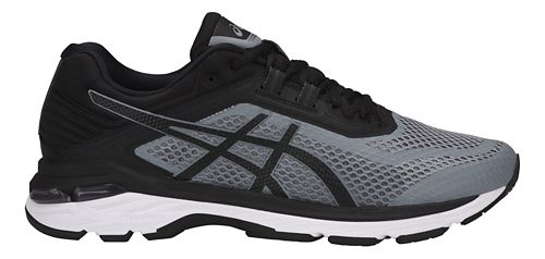Mens ASICS GT-2000 6 Running Shoe - Black/Grey 11.5