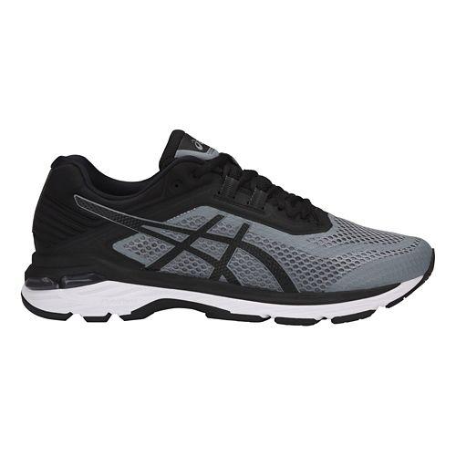 Mens ASICS GT-2000 6 Running Shoe - Black/Grey 7