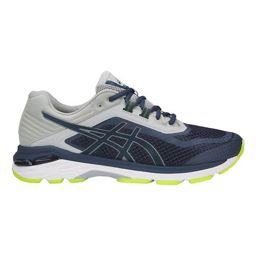 Mens ASICS GT-2000 6 Running Shoe - Dark Blue/Grey 8