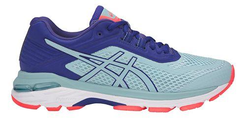 Womens ASICS GT-2000 6 Running Shoe - Blue/Blue 10.5