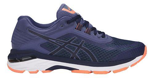 Womens ASICS GT-2000 6 Running Shoe - Indigo Blue 5