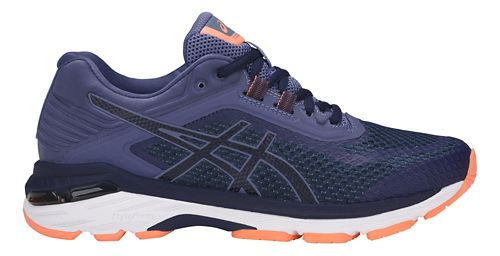 Womens ASICS GT-2000 6 Running Shoe - Indigo Blue 6