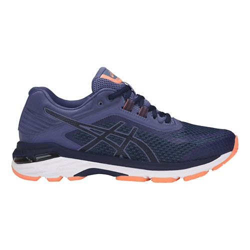 Womens ASICS GT-2000 6 Running Shoe - Indigo Blue 10.5
