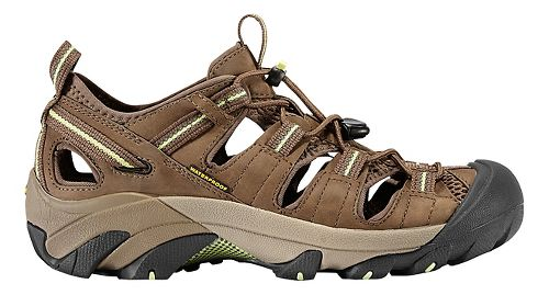 Womens Keen Arroyo II Hiking Shoe - Chocolate Chip/Green 7.5