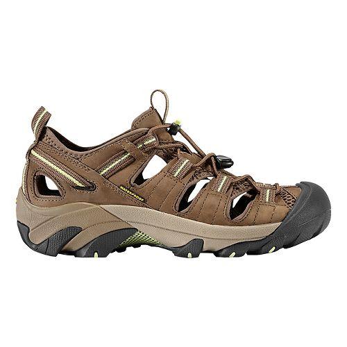 Womens Keen Arroyo II Hiking Shoe - Chocolate Chip/Green 6.5