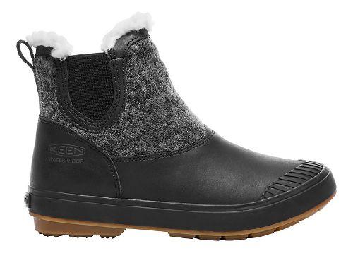 Womens Keen Elsa Chelsea WP Casual Shoe - Black Wool 10