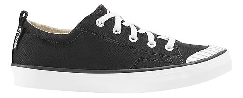 Womens Keen Elsa Sneaker Casual Shoe - Black/White 9