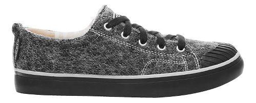Womens Keen Elsa Sneaker Fleece Casual Shoe - Black Wool 10.5
