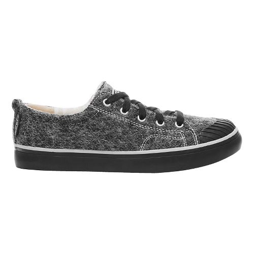 Womens Keen Elsa Sneaker Fleece Casual Shoe - Black Wool 9