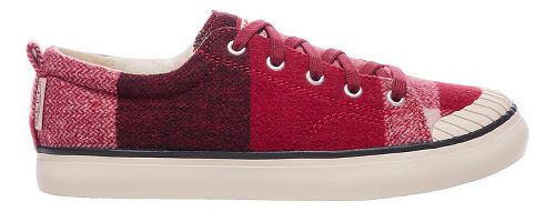 Womens Keen Elsa Sneaker Fleece Casual Shoe - Red Dahlia Wool 6.5
