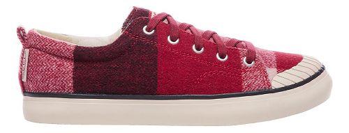 Womens Keen Elsa Sneaker Fleece Casual Shoe - Red Dahlia Wool 9