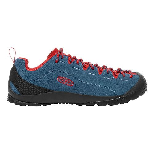 Womens Keen  Jasper Casual Shoe - Blue/Red 8.5