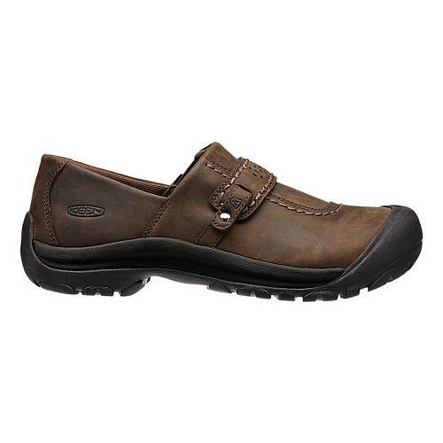 Kaci Full-Grain Slip-On Casual Shoe - Brown 6