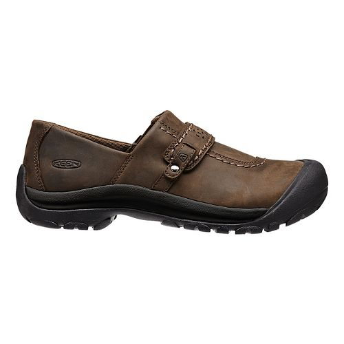 Kaci Full-Grain Slip-On Casual Shoe - Brown 9.5