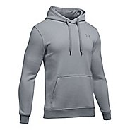 Mens Under Armour Rival EOE Fitted Pullover Half-Zips & Hoodies Technical Tops